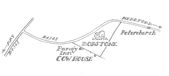 Room by Coralie Rogers Cow House Dorstone