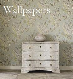 Wallpaper Paints Fabrics Hay on Wye Room in Hay