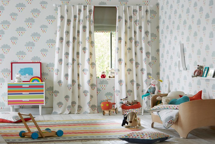 Room in Hay childrens fabrics