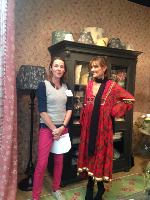Coralie with Vanessa Arbuthnott