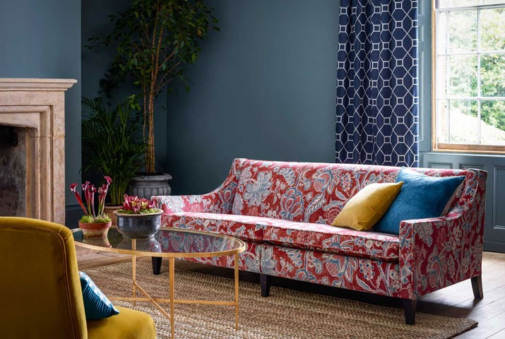Sanderson fabrics Hereford Wales